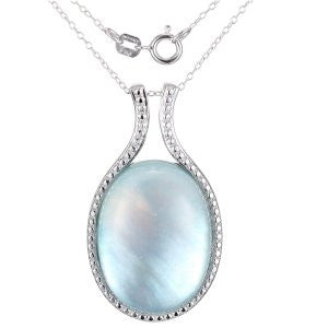 Reign Genuine Dyed Mother of Pearl Pendant - Nica's Clothing & Accessories