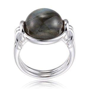 Reign Genuine Labradorite Bubble Ring - Nica's Clothing & Accessories