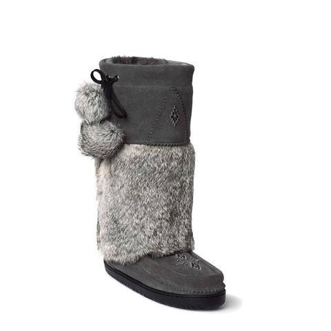 SNOWY OWL MUKLUK - Nica's Clothing & Accessories - 1