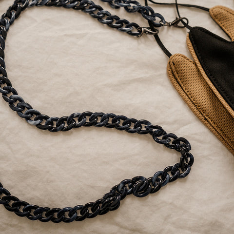 TESS MASK CHAIN - NAVY