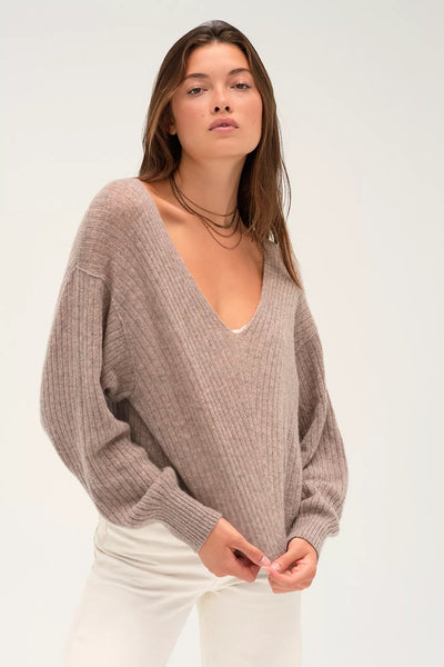 ELIAS CASHMERE V SWEATER