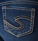 Silver Jeans Suki Mid Capri - Nica's Clothing & Accessories - 4