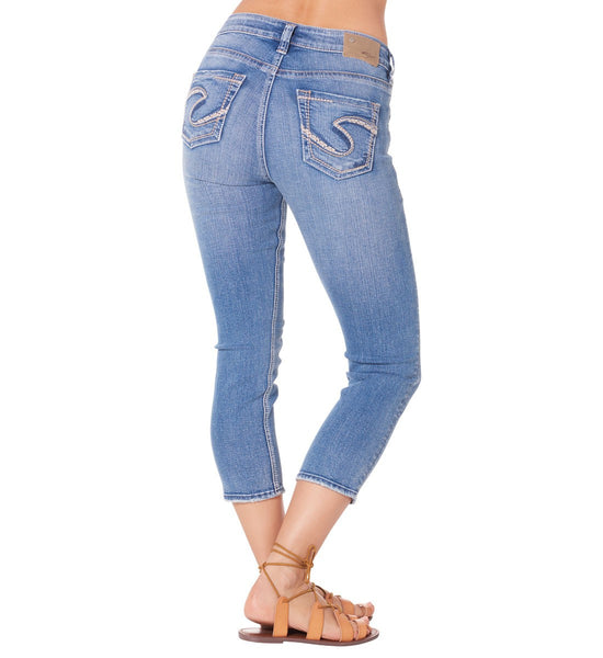 Silver Jeans Suki High Rise Capri - Nica's Clothing & Accessories - 2