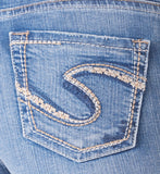 Silver Jeans Suki High Rise Capri - Nica's Clothing & Accessories - 4