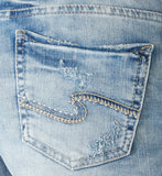 Silver Jeans Aiko High Rise Short - Nica's Clothing & Accessories - 4
