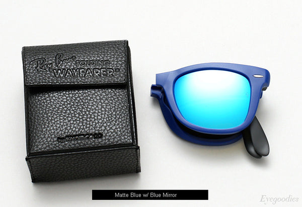 RAY-BAN WAYFARER FOLDING FLASH LENSES - Nica's Clothing & Accessories - 2