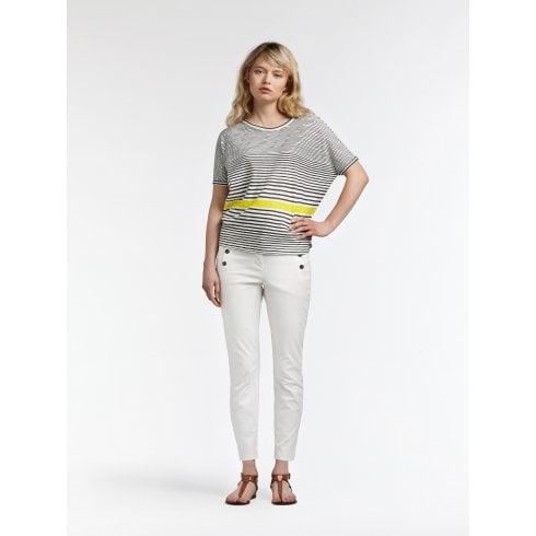BALLOON T-SHIRT WITH STRIPES