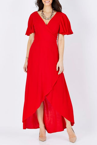 Fate + Becker Sonata Dress Red - Total Woman Total Home