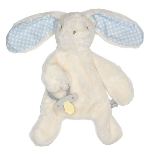 Bunny Comforter with Dummy Holder Blue - Total Woman Total Home