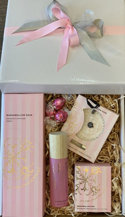Aromabotanical Marshmallow Rose Home Fragrance Gift Box - Total Woman Total Home