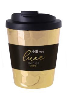 Chill Me Luxe Travel Cup Yellow Gold