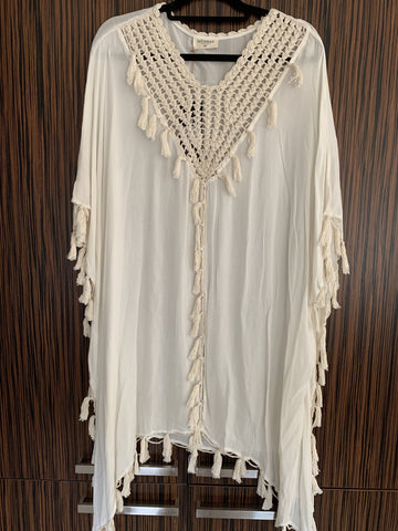 Talisman Orion Kaftan Natural - Total Woman Total Home