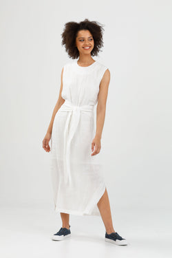 Brave + True Turning Point Dress White