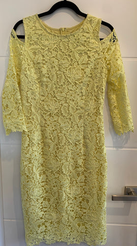 Ping Pong Lemon Lace Dress - Total Woman Total Home