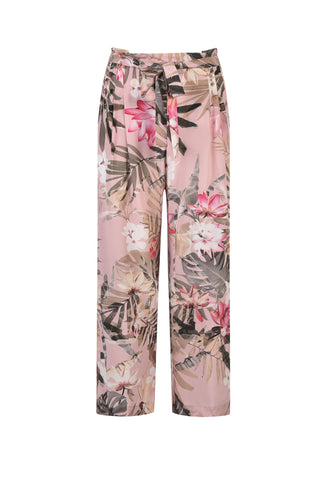 Jump 7/8 Wide Leg Pants Tropical - Total Woman Total Home
