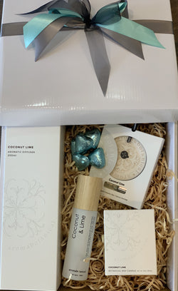 Aromabotanical Coconut Lime Home Fragrance Gift Box - Total Woman Total Home