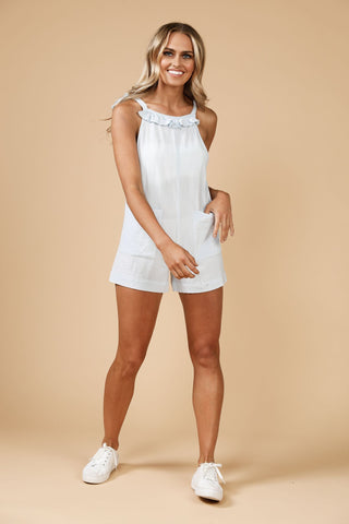 Daisy Says Gypsy Playsuit Blue