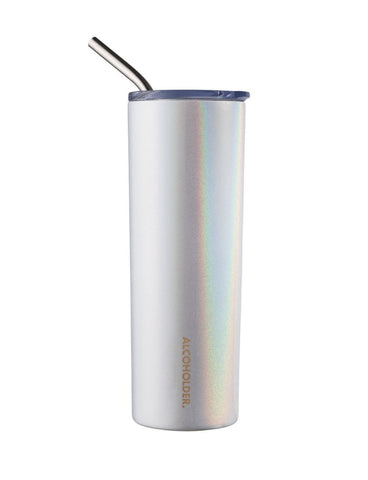 Alcoholder SKNY Vacuum Insulated Skinny Tumbler Unicorn Sparkles - Total Woman Total Home
