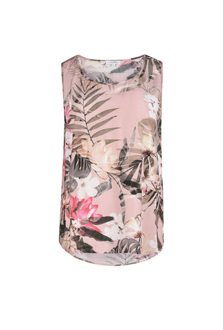 Jump Sleeveless Tropical Tank Top - Total Woman Total Home