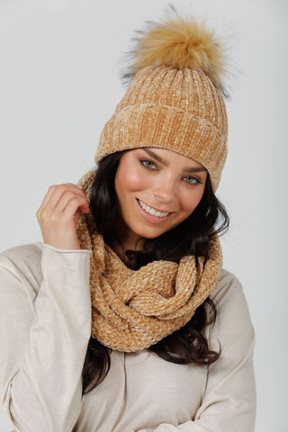 Brave + True Brentwood Snood Tan