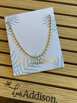 Dear Addison Reef Necklace Yellow Gold - Total Woman Total Home