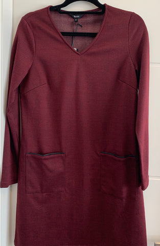 Jendi Burgundy Tunic - Total Woman Total Home