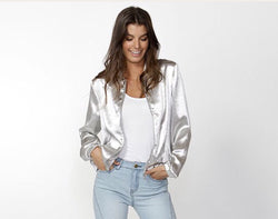 Fate + Becker Trixie Bomber Jacket - Total Woman Total Home