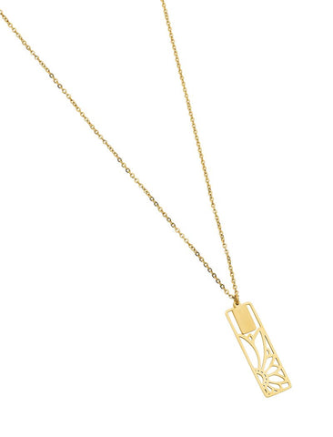 Pastiche Aurelia Necklace Yellow Gold - Total Woman Total Home