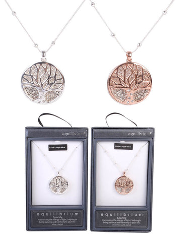 Equilibrium Tree of Life Necklace - Total Woman Total Home
