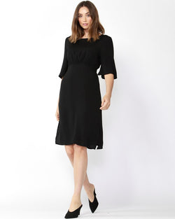 Fate + Becker Keep it Real Dress Black - Total Woman Total Home