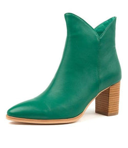 Django and Juliette Astronomy Ankle Boot  Emerald Green