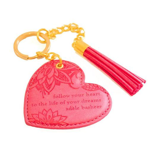 Intrinsic Key Chain Coral Crush - Total Woman Total Home