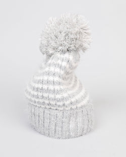 Brave + True Anchorage Beanie Grey Marle Off White - Total Woman Total Home