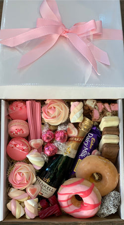 Bubbles and Sweets Dessert Box Small