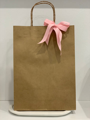 Gift Wrapping Large Bag with Ribbon - Total Woman Total Home
