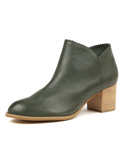 Django & Juliette Sharon Leather Ankle Boot - Total Woman Total Home