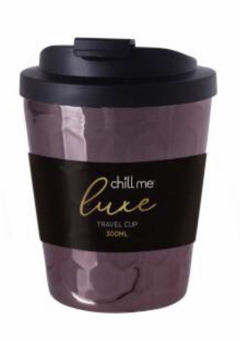 Chill Me Luxe Travel Cup Chocolate Bronze