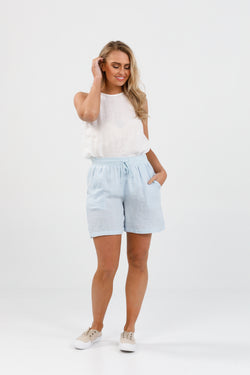 Brave + True Juno Shorts Hamptons Blue