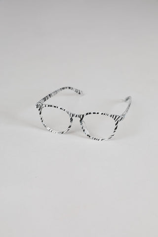 The Shanty Porter Reading Glasses Zebra