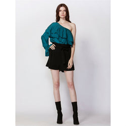 Fate + Becker Lola Off Shoulder Ruffle Top - Total Woman Total Home