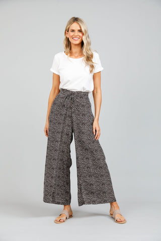 Holiday Hayman Pants Coco Seaside Print
