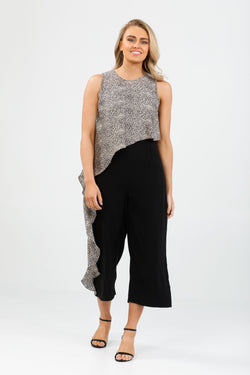 Brave + True Destiny Pantsuit Cloud Nine Black