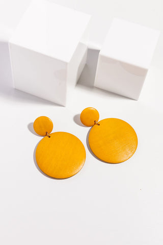 Holiday Langley Earrings Mustard