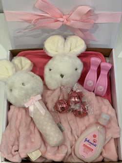 Baby Bunny Gift Box Pink - Total Woman Total Home