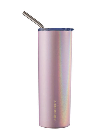 Alcoholder SKNY Vacuum Insulated Skinny Tumbler Blush Pink - Total Woman Total Home