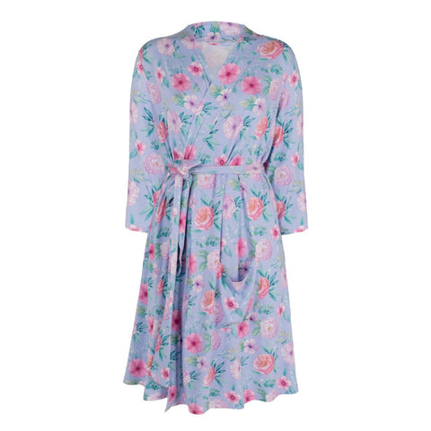 All4ella Robe Floral - Total Woman Total Home