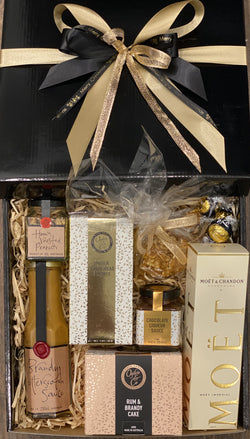 Moet and Treats Gift Box