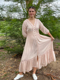 Talisman Genie Dress Pink