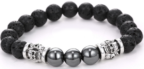 BUY 1, FREE 1 - Men's Beaded Bracelet Crypt