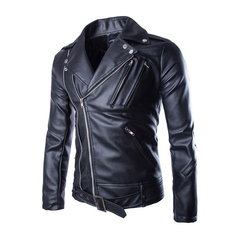 Tanner Leather Biker Men's Jacket